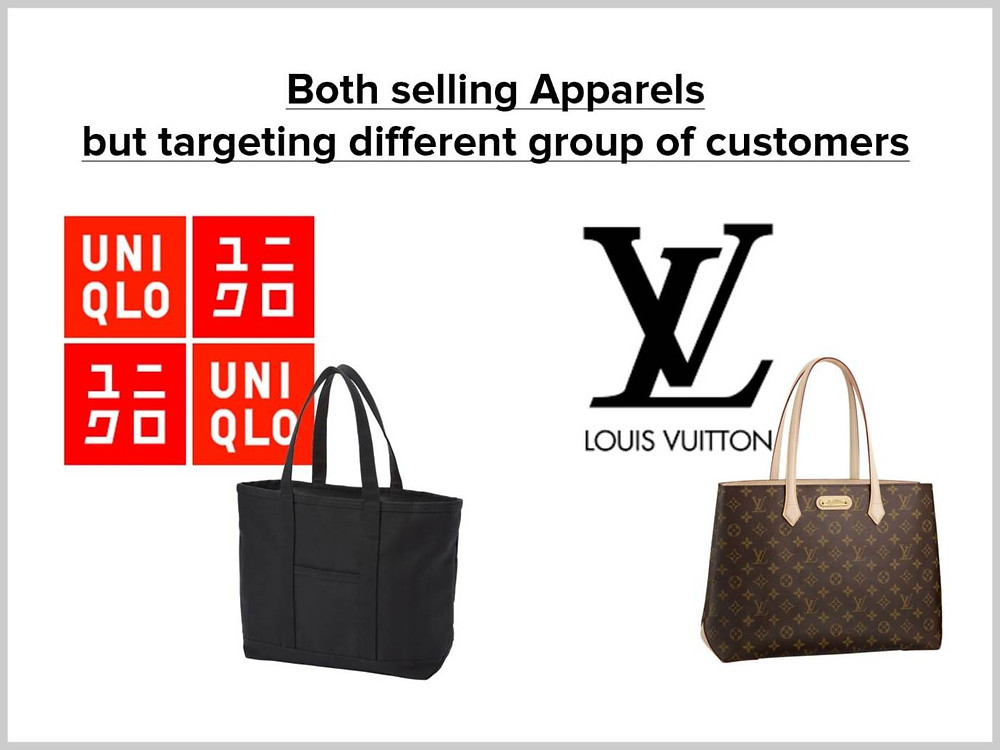 So just as we cannot compare a brand like Uniqlo with LV,