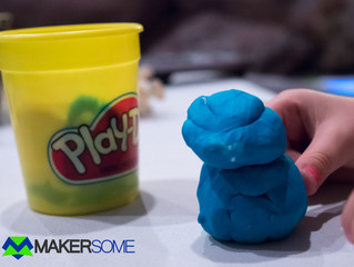 3D Design with Play-Doh