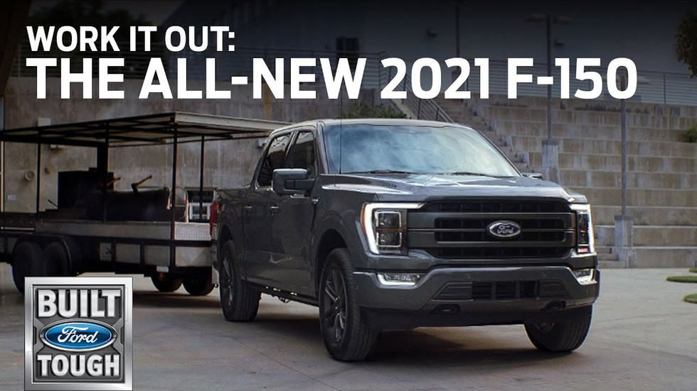 """FORD F150: """"WORK IT OUT"""""""