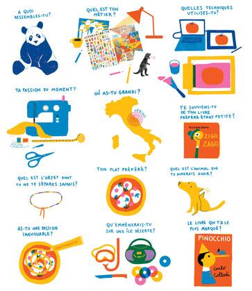 interview dessinée illustration gazette thierry magnier