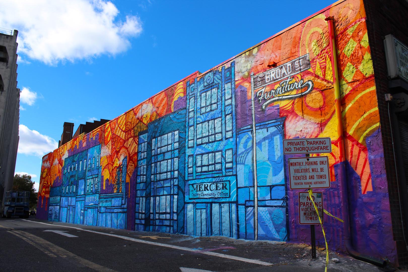 Beautiful Broad Street Mural