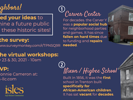 Help shape the future of the Carver Center and Nixon School!