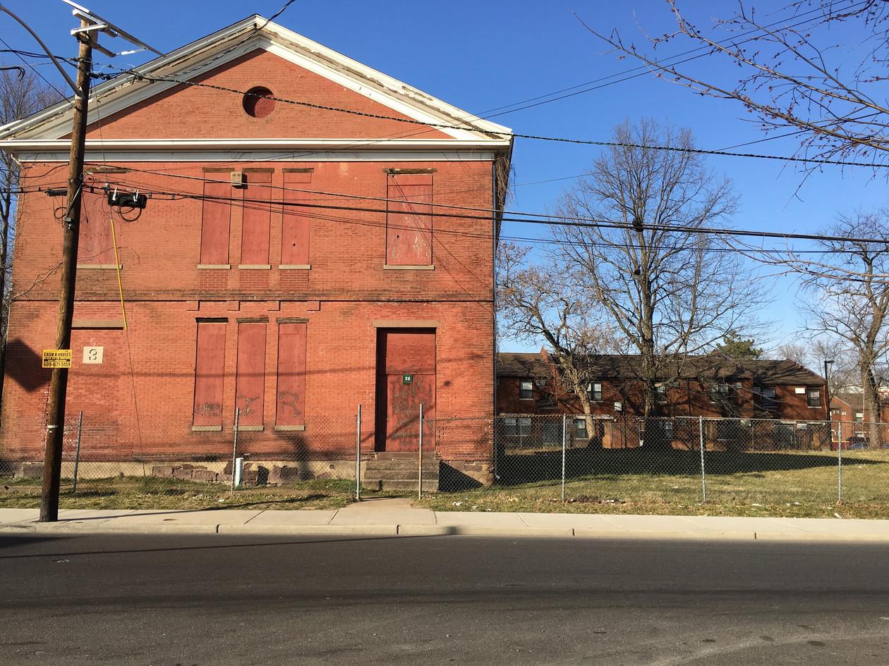 Higbee Street School and adjacent lot
