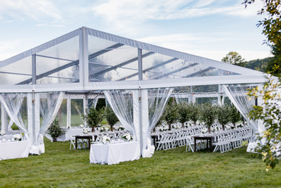 Clear-top-tent-vermont-wedding-rehearsal