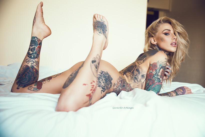 Lauren Brock en Londres