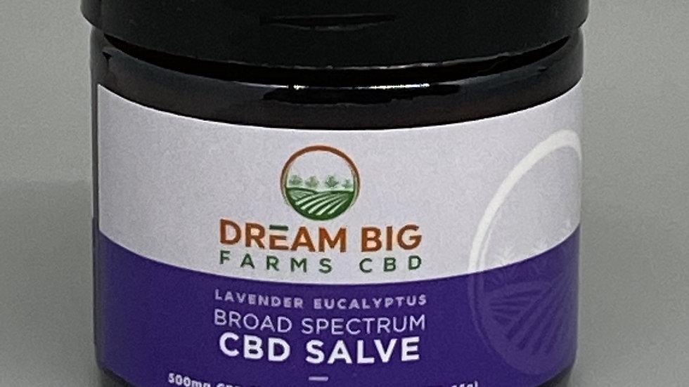 500mg CBD Salve (Lavender Eucalyptus)