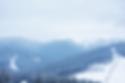 Paysage de la station de ski