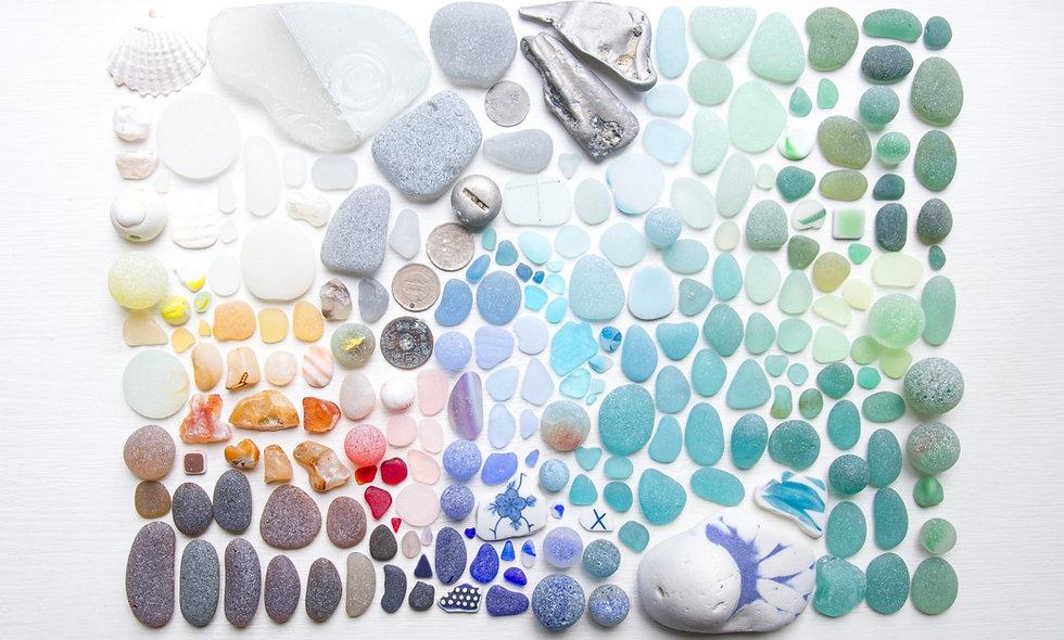 Beachcombing Flatlay IIII Print