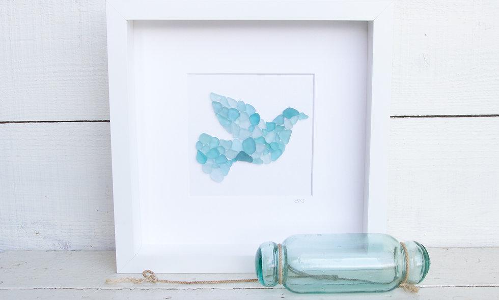 Japanese Sea Glass - Dove