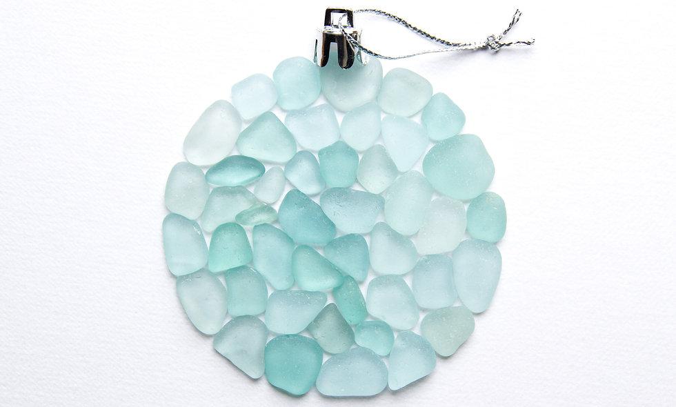 Sea Glass Bauble Print