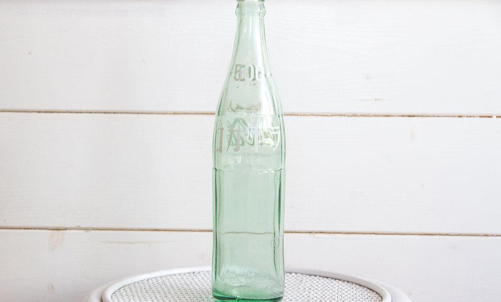 1972 Japanese Coca-Cola Bottle