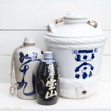 History of Sake through Sea Pottery