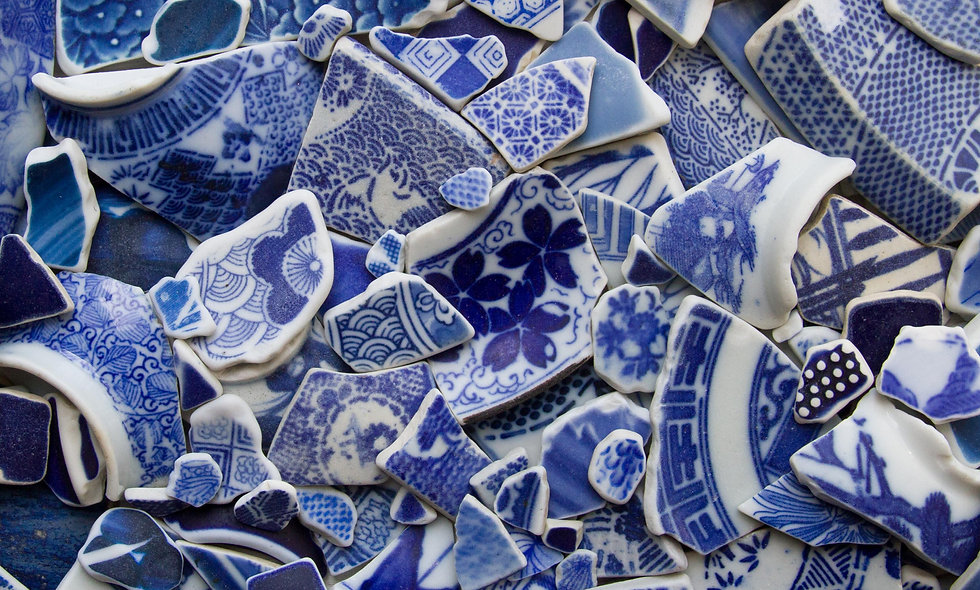 Japanese Sea Pottery Print