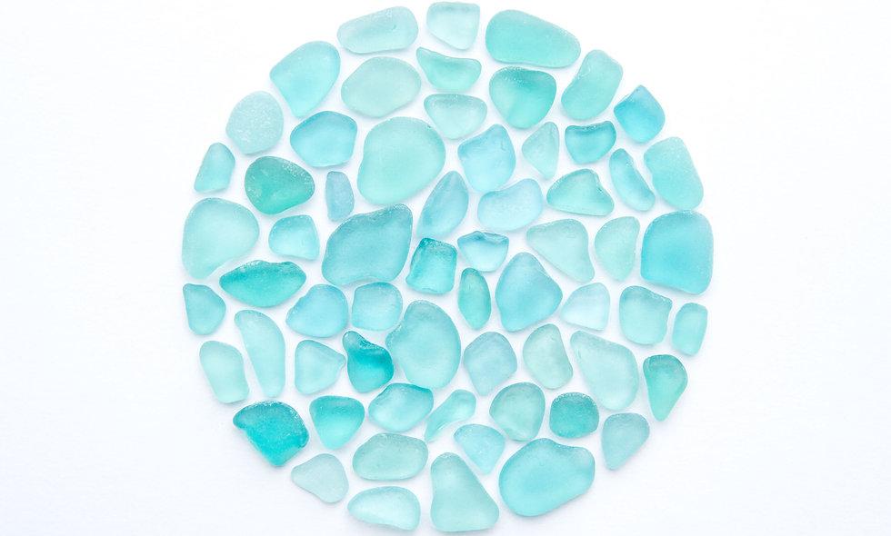 Sea Glass Fishing Float Print