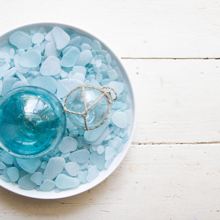 How to decorate with your beach gems
