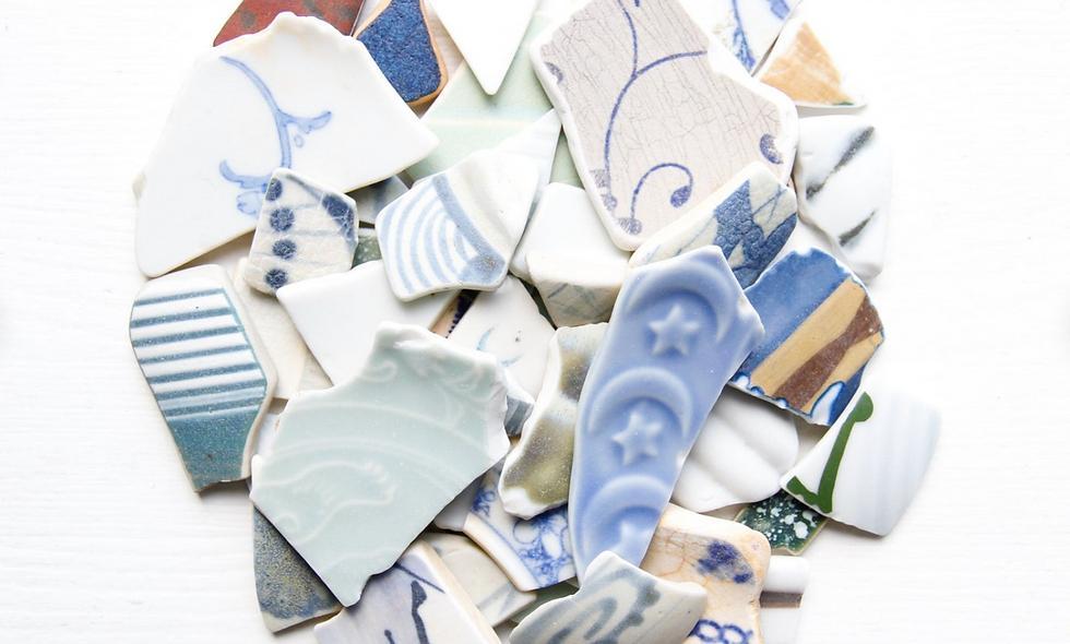 Japanese Craft Sea Pottery