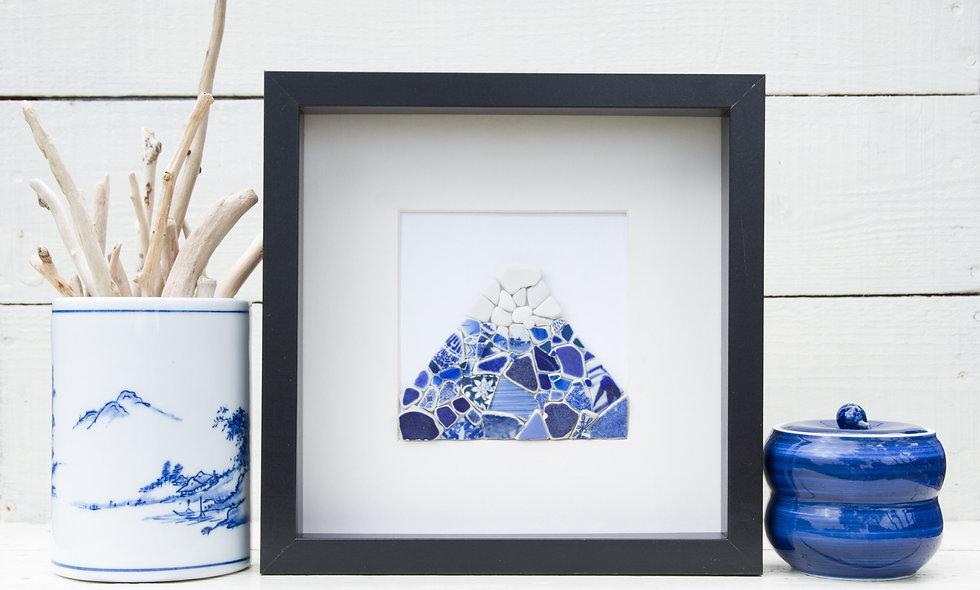 Japanese Sea Pottery - Mt Fuji