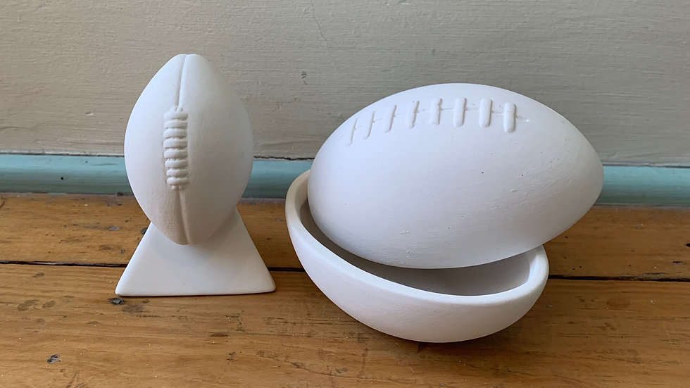 Football Box and Football Trophy