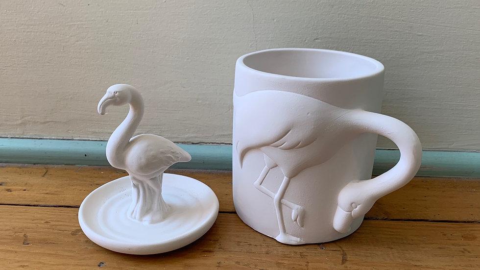 Flamingo Ring Holder and Flamingo Mug