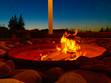 Fire Pit Night Sky