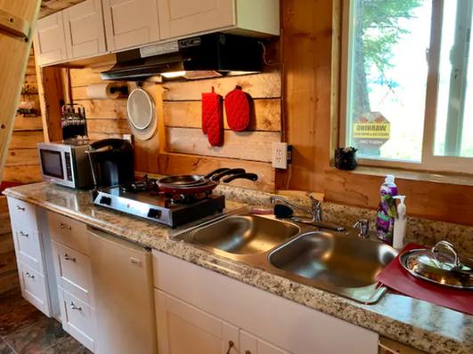 Mill Cabin Kitchen