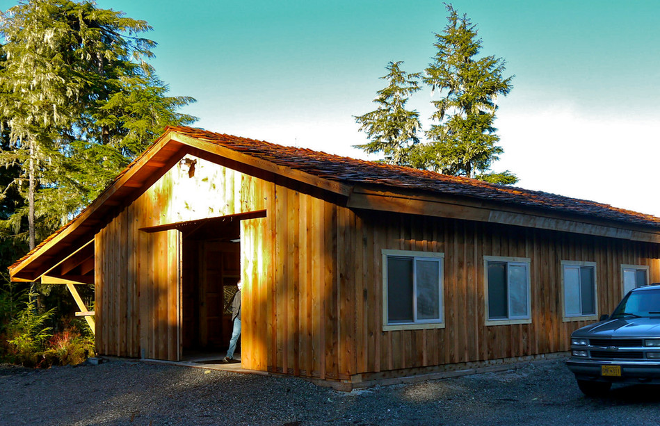 Klawock Carving Shed is Complete