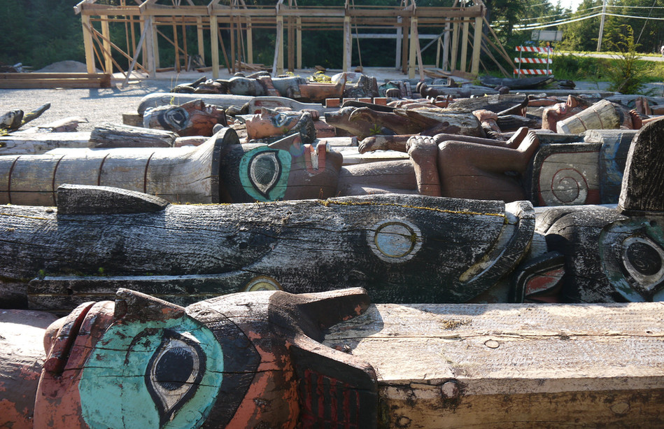 Recovered Totems in the Foreground