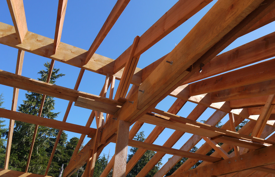 Good Look at a Main Rafter Truss
