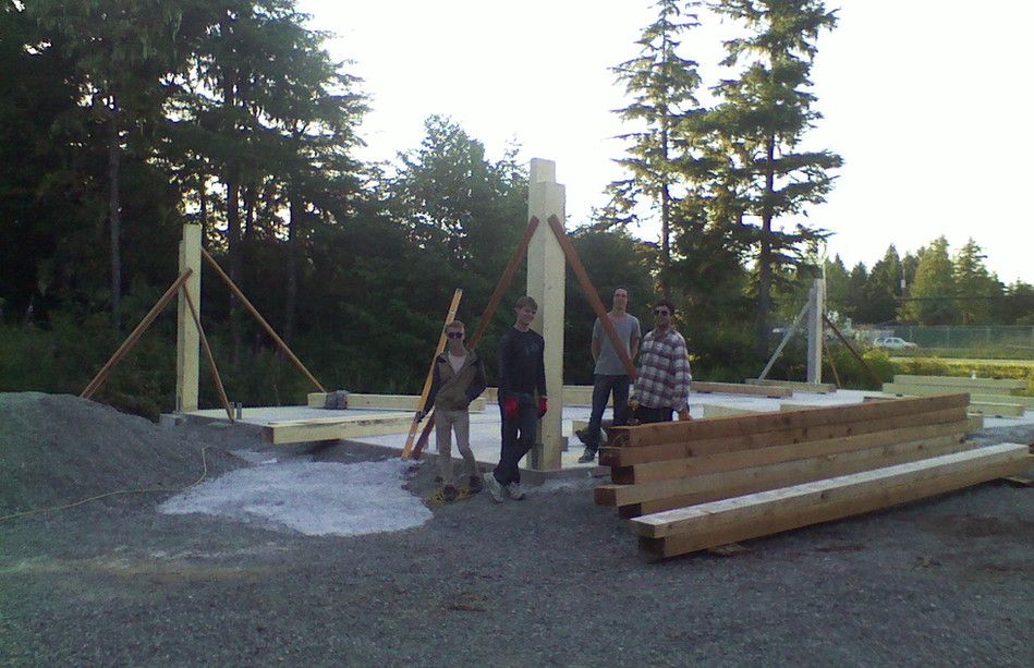 Post & Beam Construction.