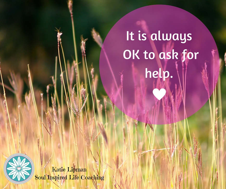 It's perfectly OK to ask for help