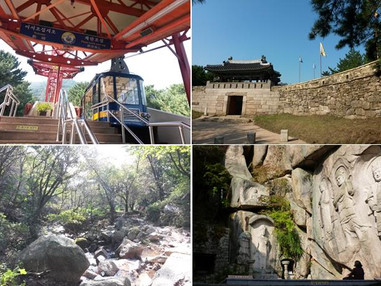 Journal log 11: 2hrs Nice Hike, Geumgang park – Seokbulsa temple – Mandeok