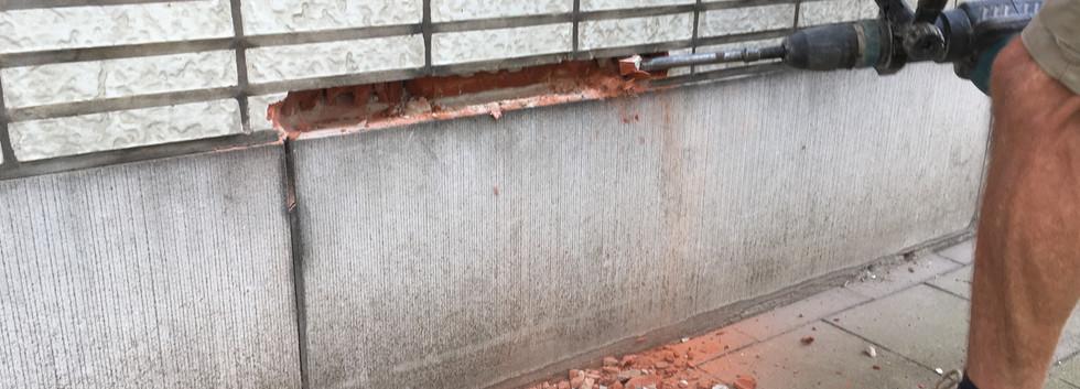 selectieve sloop plint universiteitsgebouw UAntwerpen