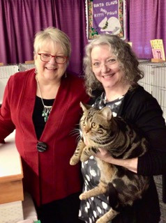Secretariat with Judge Mary Auth