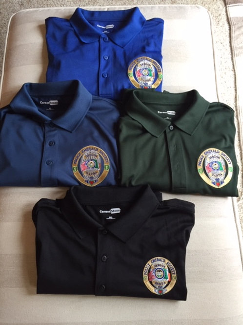 OPES embroidered polo