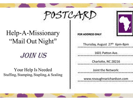 Join Us for Mail Out Night