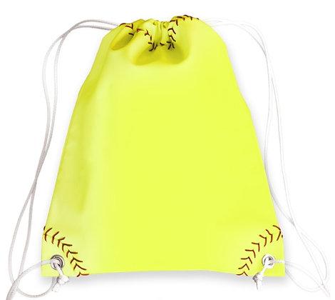 Softball Drawstring Bag