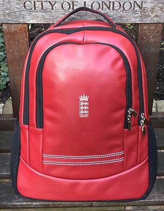 England Cricket Red Rucksack