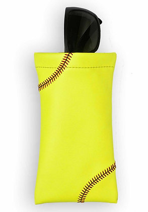 Softball Glasses Pouch