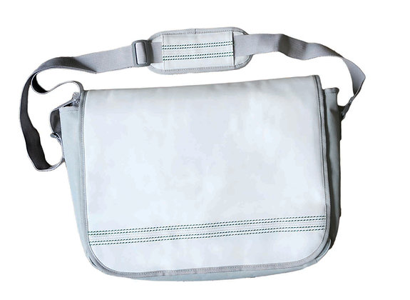 Cricket White Messenger Bag