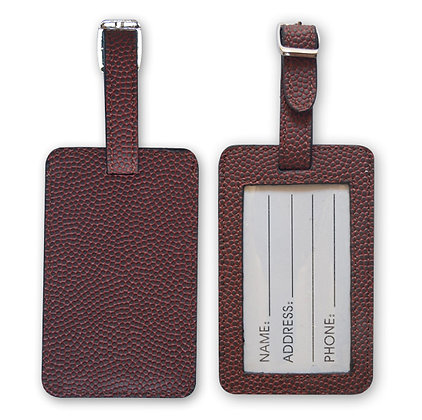 American Football Luggage Tags