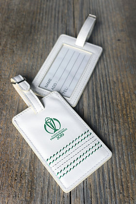ICC CWC 2019 Cricket White Luggage Tags