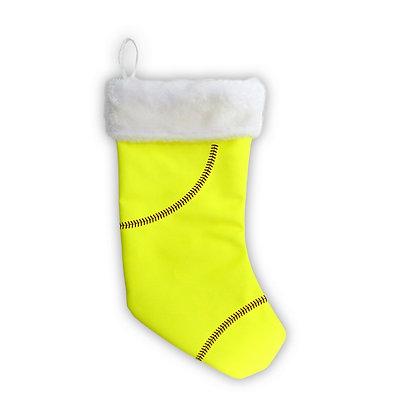 Softball Christmas Stocking