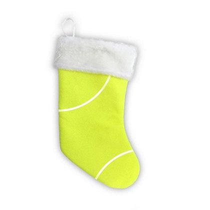 Tennis Christmas Stocking