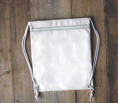 Cricket White Drawstring Bag 🏏