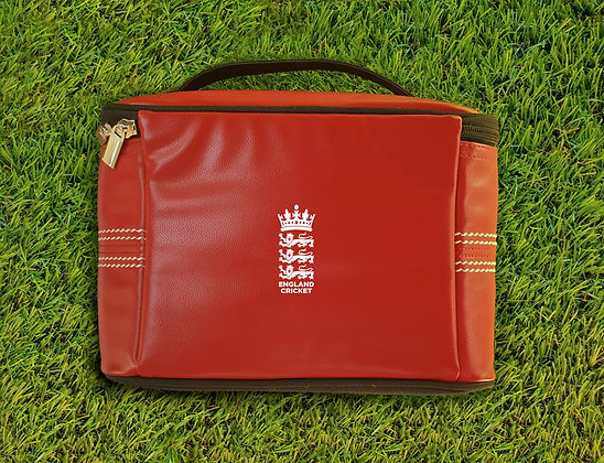 England Cricket Red Insulated Lunch Box