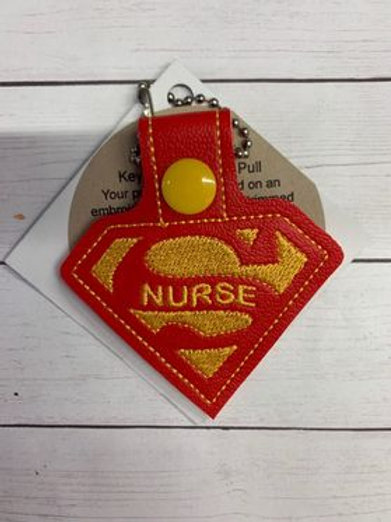 SUPER Nurse Keychain