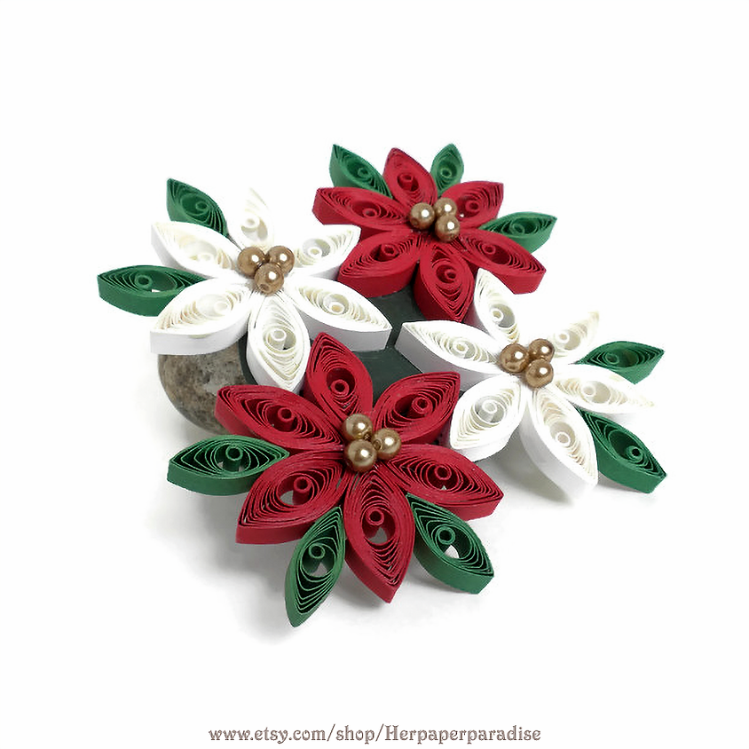 SOLD OUT - Poinsettia Ornament Workshop