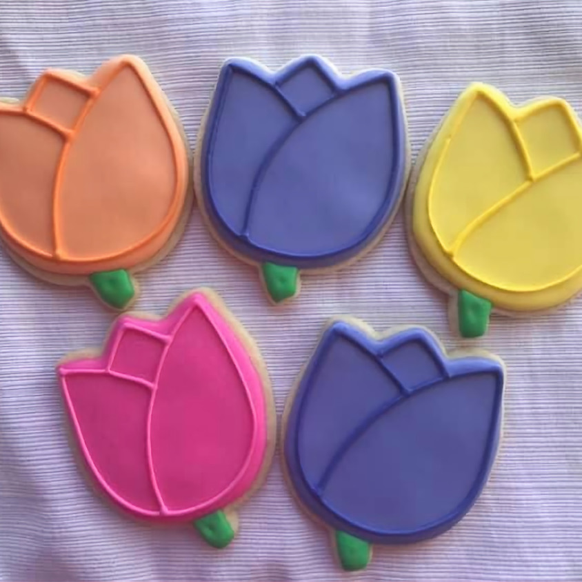 ONLINE Tulip Royal Icing Cookie Decorating