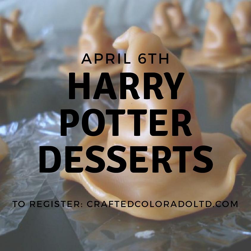 Harry Potter dessert class - Muggles welcome! 12-2pm