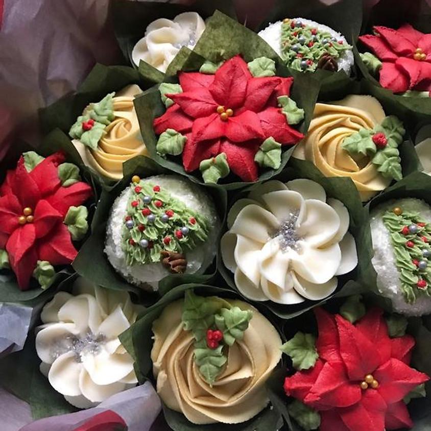 Holiday Cupcake Bouquet Class
